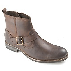 Ikon - Brown Evans biker style fashion boot