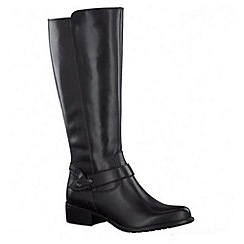 Tamaris - Black '25571' high leg boots