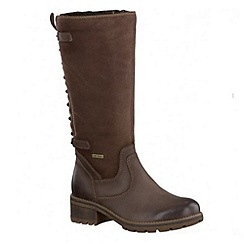 Tamaris - Brown '26534' warm mid winter boot