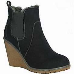Pixie - Izzy black chelsea boots from Pixie