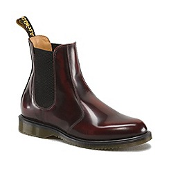Dr Martens - Cherry Red Flora chelsea boots
