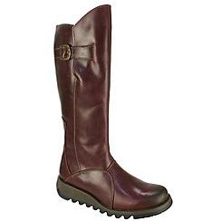 Fly London - Purple 'Mol 2' Boots