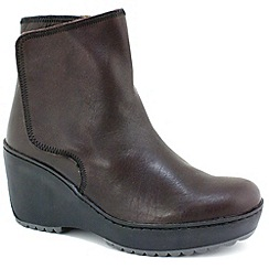 Fly London - Womens Ox Blood Mare Ankle Boots