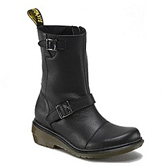 Dr Martens - Black 'Moll Karin'mid ankle boots