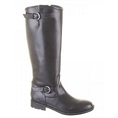Chatham - Black 'murphy' high leg boots