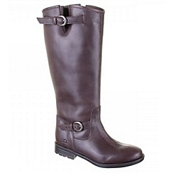 Chatham - Brown 'murphy' high leg boots