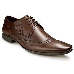 Pod - Brown 'Ceres' fashion lace shoes