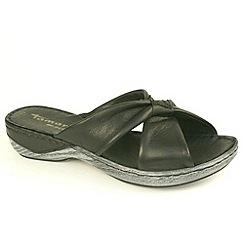 Tamaris - Black Black 27222 wedge sandals