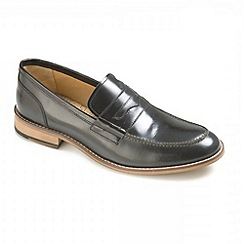 Ikon - Black 'Marner' loafers