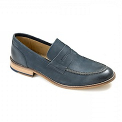 Ikon - Navy 'Marner' loafers
