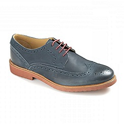 Ikon - Navy 'Hazel' lace up brogues