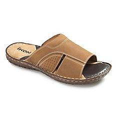 Ikon - Tan mens 'Devon' sandals