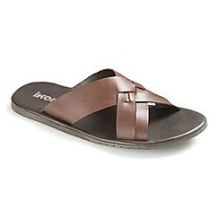 Ikon - Brown 'Truro' sandals