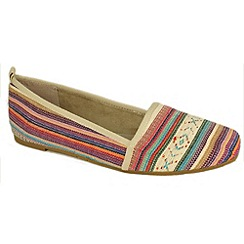 Tamaris - Multi-coloured '24618' canvas pumps