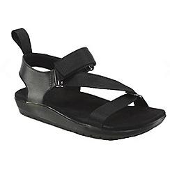 Dr Martens - Black 'Balfour Z Strap' black sandals