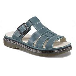 Dr Martens - Dark turquoise 'Brigid' sandals