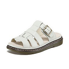 Dr Martens - White 'Brigid' sandals