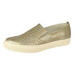 Bronx - Silver bronx 'Mec' shoes