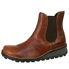 Fly London - Brown Muna chelsea boot in brick