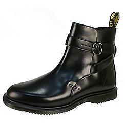 Dr Martens - Black 'Teresa' black jodhpur boot with straps