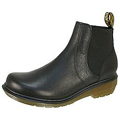 Dr Martens - Black moll 'Pamela' black chelsea boots