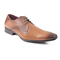 Front - Mid brown 'Gomez' shoes