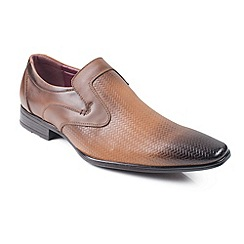 Front - Brown 'Toledo' shoes