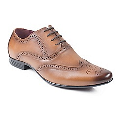 Front - Mid brown 'Avatar' shoes