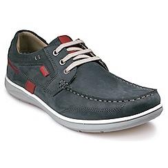 Pod - Blue 'Kestral' shoes