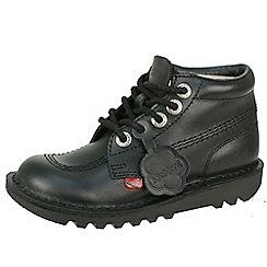 Kickers - Black kick hi core junior classic 'Kickkers boot'