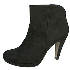 Tamaris - Black 25348 black heeled boots