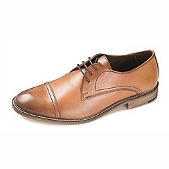 Ikon - Tan men's formal tan lace up shoes