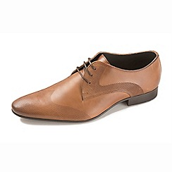Ikon - Tan men's lace up formal shoes