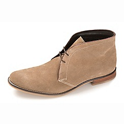 Ikon - Taupe men's formal lace up boots