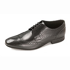 Ikon - Men's black ritchie formal shoes