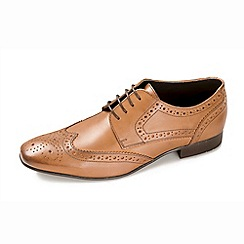 Ikon - Tan men's formal lace up tan shoe