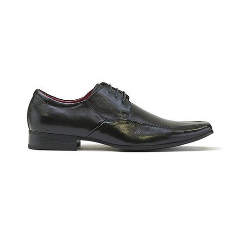 Front - Black nik fr670 formal shoes