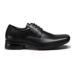 Front - Men's black 'Dallas' casual shoes