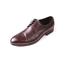 Azor - Brown Men's formal lace up leather shoe