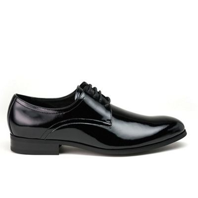 Azor Black patent trevor formal shoes - . -