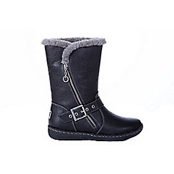 Pixie - Grey Poppy 2 in 1 Graphite Boots