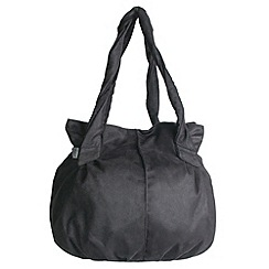 Pixie - Graphite poppins handbag