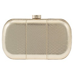 Parfois - Gold patchy clutch