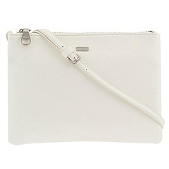 Parfois - White 'Papaya' cross bag