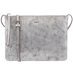 Parfois - Silver papaya cross bag