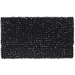 Parfois - Black missanga clutch