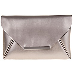 Parfois - Silver mini clutch