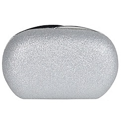 Parfois - Silver party box glitter silvered