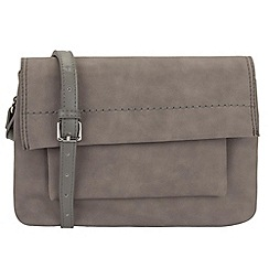 Parfois - Grey doble cross bag