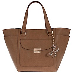 Parfois - Beige scala shopper